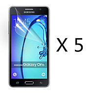 (5 Pcs) High Definition Screen Protector Flim for Samsung Galaxy On5