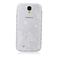 Mert Samsung Galaxy tok Átlátszó / Minta Case Hátlap Case Pillangó TPU SamsungS6 edge plus / S6 edge / S6 / S5 Mini / S5 / S4 Mini / S4 /