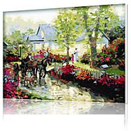 diy digitaal olieverfschilderij kader familie plezier schilderij helemaal zelf uitzoeken x5034