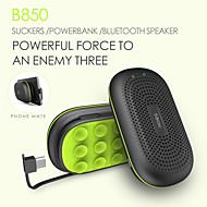 мощность динамиков портативный мини 3000mAh POWERBANK беспроводной Bluetooth динамик мощностью банк с микрофона сосание диска кронштейна