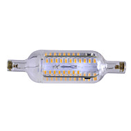 7W R7S Bombillas LED de Mazorca Luces Empotradas 76 SMD 4014 600-700 lm Blanco Cálido Regulable / Decorativa AC 100-240 V 1 pieza