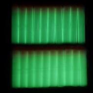 100 pcs 7.2cm lueur dans l'obscurité fléchettes recharge de balles pour NERF N-Strike élite dynamiteurs de la série jouet enfant d'armes à