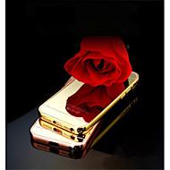 Za Maska iPhone 5 Zrcalo Θήκη Kućište Θήκη Jedna boja Tvrdo Akril iPhone SE/5s/5