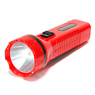 Solar Rechargeable / AC Charging 2 Mode Torch Flashlight