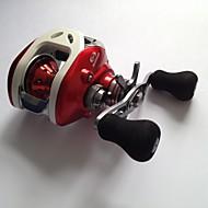 Fiskehjul Maddingkast Hjul 6.3:1 12 Kuglelejer Højrehåndet Madding Kastning Ferskvandsfiskere Flue Fiskeri Generel Fiskeri-LPB100 R FSD