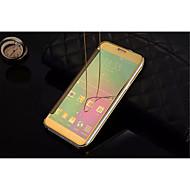 Voor Samsung Galaxy hoesje Spiegel / Flip / Transparant hoesje Volledige behuizing hoesje Effen kleur PC SamsungA9(2016) / A7(2016) /
