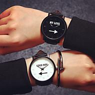 fahion amanti amanti del quarzo orologi degli uomini di lusso di marca della cinghia di cuoio donne vestono la vigilanza annata orologio