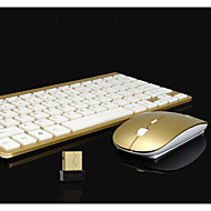 Top Quality 2.4GHz Optical Wireless  Mini Mouse and Wireless Game Computer Keyboard Sets 2 Pieces