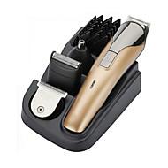 8in1 mens barbe rasoir tondeuse cheveux kit clipper de toilettage électrique rechargeable
