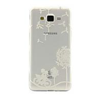 Για Samsung Galaxy Θήκη Διαφανής / Με σχέδια tok Πίσω Κάλυμμα tok Ραδίκι TPU Samsung J5 / J2 / J1 Ace