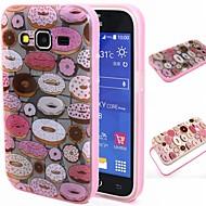Varten Samsung Galaxy kotelo Iskunkestävä / Läpinäkyvä / Kuvio Etui Takakuori Etui Piirros TPU SamsungGrand Prime / Grand Neo / Core