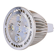 GU5.3(MR16) 7 W 5x3030SMD 630 LM Warm White / Cool White MR16 Decorative Spot Lights AC 85-265 / AC 12 V