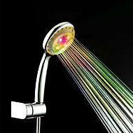 Colorful ABS LED Color Changing Hand Shower