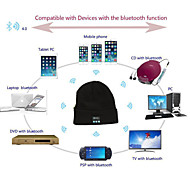 Warm Beanie Hat Wireless Bluetooth Music Cap Headphone Headset Speaker Mic SCW