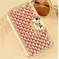 luxus bling kristály gyémánt bőr Flip táska fedelét Samsung Galaxy A3 / A5 / A7 / A8 (vegyes színek)