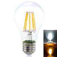 YWXLIGHT E26/E27 16 W 8*COB 1450 LM Warm White / Natural White A60(A19) Decorative Globe Bulbs AC 220-240 / AC 110-130 V