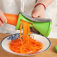 1 st Morot Skalare & rivjärn For för grönsaker för frukt Plast Kreativ Köksredskap Miljövänlig Hög kvalitet