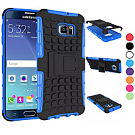 2 in 1 Dual-color Detachable PC+TPU Hybrid Case with Kickstand for Samsung Galaxy S5Mini/S4/S5/S6/S6 Edge/S6 Edge Plus