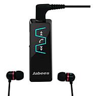jabees Bluetooth v4.1 receptor de música fones de ouvido estéreo de 3,5 mm com fones de ouvido in-ear para smartphones