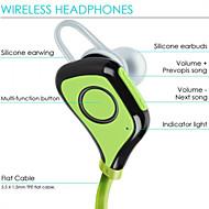 IPX4 waterproof Sport Bluetooth headphones earphones 10 hours wireless Sport  headset with Mic for iphone 6S Samsung S6