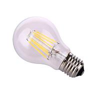 YWXLIGHT E26/E27 12W 6 COB 1020 LM Warm White / Natural White A60(A19) Decorative Globe Bulbs AC 220-240 / AC 110-130 V