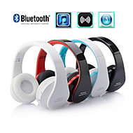 oldshark® plegable bluetooth headset sobre-oído estéreo para iphone / samsung / pc