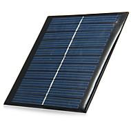 1W 5.5V kimeneti polikristályos szilícium napelem DIY