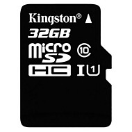 opprinnelige kingston 32gb class 10 Micro SD SDHC TF flash minnekort høyhastighets ekte