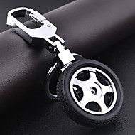 forme de roue de voiture trousseau de bricolage pour les hommes&femmes