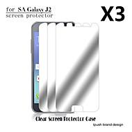 ipush korkea läpinäkyvyys peili LCD-näytön suojus Samsung Galaxy J2 (3 kpl)