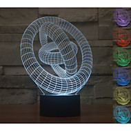 Visual 3D Model Mood Atmosphere LED Decoration USB Table Lamp Colorful Gift Night Light