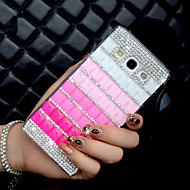 For Samsung Galaxy etui Rhinsten Etui Bagcover Etui Farvegradient PC for Samsung A8 A7 A5 A3