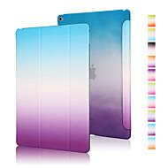 jó minőségű PU bőr szivárvány gradiens oldaltáska iPad levegő