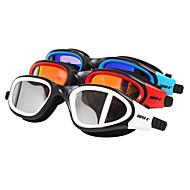 SUPER-K Úszás Goggles Női / Men's / Uniszex Páramentesítő / Vízálló / Állítható méret Szilícium-dioxid gél PC Piros / Fekete / Kék Others