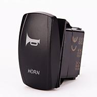 iztoss laser blå momentan vippekontakt horn 20a 12v (on) -off LED lys