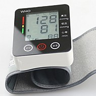 ck®ome automatisk digital håndled manchet blodtryksapparat håndled måler puls blodtryksmaaler LCD touch
