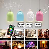 besteye®blf5 3W E27 100-240V Smart LED-Lampe Multi-Color-LED-Licht mit bluetooth Lautsprecher kostenlose Smartphone-App