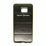 Για Samsung Galaxy Θήκη Με σχέδια tok Πίσω Κάλυμμα tok Διαβάθμιση χρώματος Συνθετικό δέρμα Samsung S6 edge plus / S6 edge / S6 / S5 / S4