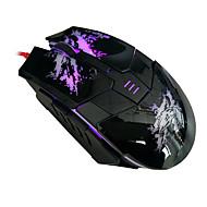 beitas USB langallinen hiiri 800/1600 / 2400dpi 5 nappia optinen pelaamista peli hiiri 7 väriä johtanut pc kannettavan tietokoneen