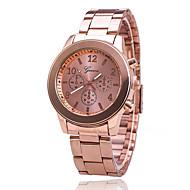 Xu™ 여성용 드레스 시계 석영 스테인레스 스틸 밴드 실버 골드 로즈 골드