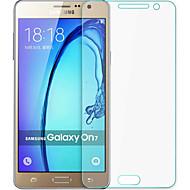 eksplosionssikret præmie hærdet glas filmlærred beskyttelsesskærm 0,3 mm hærdet membran bue til Samsung Galaxy on7