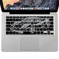 """xskn kannettavan tietokoneen näppäimistön silikoni kansi iho suojelija MacBook Pro / MacBook Air 13 """"15"""" 17 """"meitä versio"""