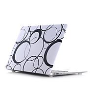 """palo de agua materiales Estilo de círculo concha plana para MacBook Pro 13 """"/ Pro 15"""""""