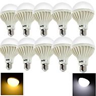 10PCS YouOKLight® E27 5W CRI>70 9*SMD5630 380LM 6000K/3000K Cool White/ Warm White LED Globe Bulbs (AC220-240V)