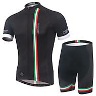 XINTOWN® Camisa com Shorts para Ciclismo Unissexo Manga CurtaRespirável / Secagem Rápida / Resistente Raios Ultravioleta / Materiais