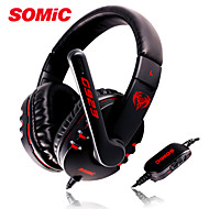 Somic G923 Stereo Gaming Headphone with Mic as Hot Sale PC Headset