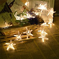 King Ro 100LED 8 Mode Starfish Christmas Decoration Waterproof String Light(KL0028-RGB,White,Warm White)