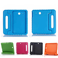Pour Samsung Galaxy Coque Antichoc Avec Support Sécurité Enfant Coque Coque Intégrale Coque Couleur Pleine Silicone pour Samsung Tab E 9.6