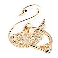 Uniwersalny diomand The Swan kształcie metalowy stojak na telefon