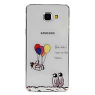 Pingwin balon wzór TPU miękki futerał etui na telefony Samsung Galaxy A3 (2016) / A5 (2016) / A7 (2016) / A9